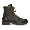 Zimní vysoká kožená kotníčková obuv bata, šedá, 896-2737 - 19