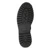 Zimní kožená pánská kotníčková obuv bata, černá, 896-6736 - 18