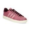 Růžové dámské ležérní tenisky adidas, červená, 501-5101 - 13