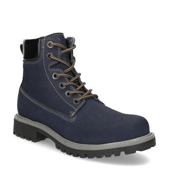 Tmavě modrá dámská kotníčková obuv weinbrenner, modrá, 596-2728 - 13