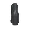 Kožená kotníčková obuv na stabilním podpatku bata, černá, 796-6652 - 15