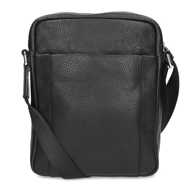 Pánská kožená Crossbody taška bata, černá, 964-6311 - 16