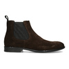 Hnědá kožená pánská Chelsea obuv vagabond, hnědá, 813-4010 - 19