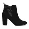 Kotníčková dámská obuv v Chelsea stylu bata-red-label, černá, 799-6629 - 19