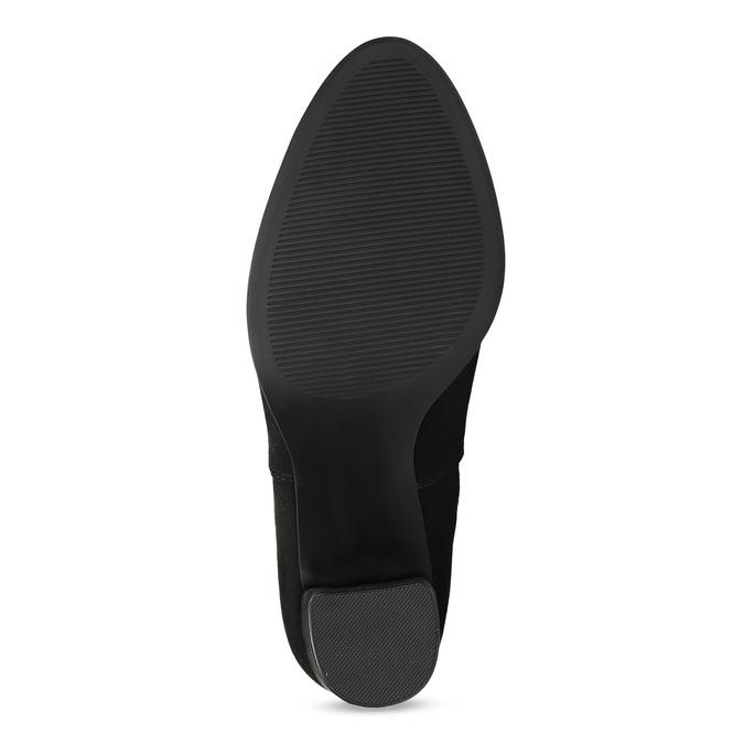 Kotníčková dámská obuv v Chelsea stylu bata-red-label, černá, 799-6629 - 18