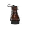 Pánská kotníková obuv hnědá lesklá bata, hnědá, 896-3720 - 15