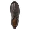 Kožená pánská kotníčková obuv comfit, hnědá, 896-4701 - 17