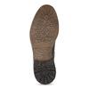 Kožená zimní kotníčková obuv pánská bata, hnědá, 896-4716 - 18