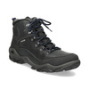 Pánská kožená outdoor obuv weinbrenner, černá, 896-6706 - 13