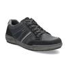Kožené pánské tenisky šedé bata, modrá, 846-9714 - 13