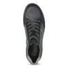 Kožené pánské tenisky šedé bata, modrá, 846-9714 - 17