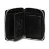 Černá kožená peněženka na zip bata, černá, 944-6603 - 15