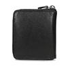 Černá kožená peněženka na zip bata, černá, 944-6603 - 16