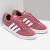 Dámské fialové kožené tenisky adidas, červená, 503-5379 - 26