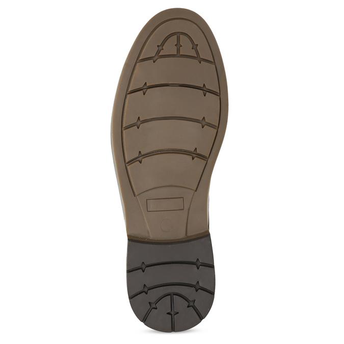 Hnědá kotníčková obuv pánská s pružením bata-red-label, hnědá, 821-3610 - 18