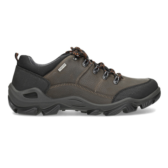 Pánská kožená obuv s masivní podešví weinbrenner, hnědá, 846-4806 - 19