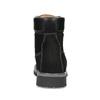 Pánská kožená kotníčková obuv s prošitím weinbrenner, černá, 896-6733 - 15