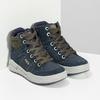 Kožená kotníčková obuv chlapecká mini-b, modrá, 493-9618 - 26