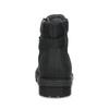 Kožená pánská kotníková obuv bata, černá, 896-6740 - 15
