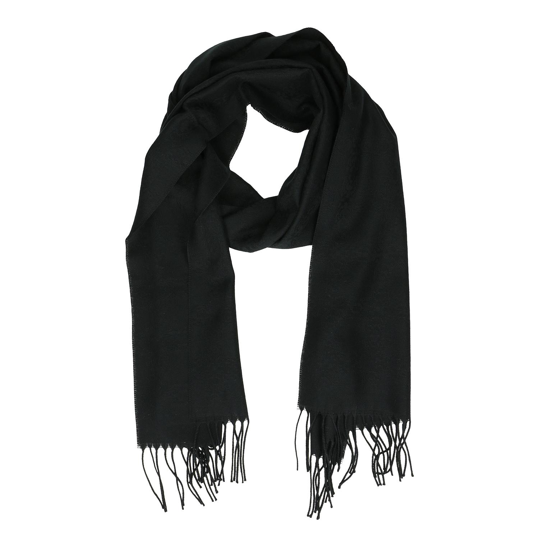 Baťa Černý šátek s třásněmi - Šátky a šály  b736d6a8d8