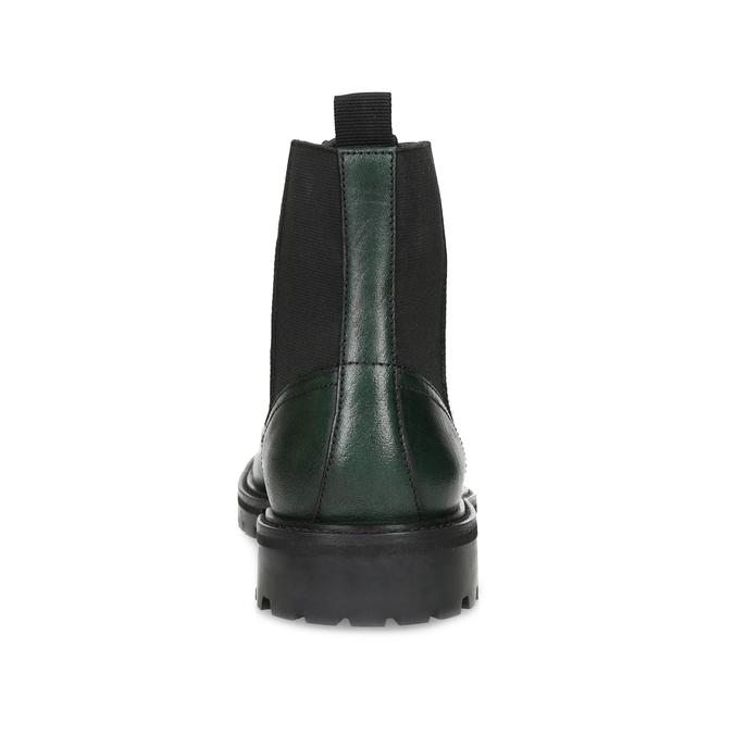 Pánská kotníčková obuv tmavě zelená bata, zelená, 896-7722 - 15