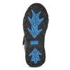 Dětská zimní obuv na suché zipy mini-b, černá, 491-6653 - 18
