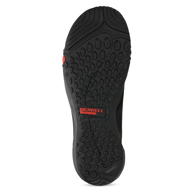Kožená pánská kotníčková obuv outdoorová merrell, černá, 806-6102 - 18