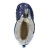 Modré dětské holínky s maskáčovým vzorem mini-b, modrá, 292-9301 - 17