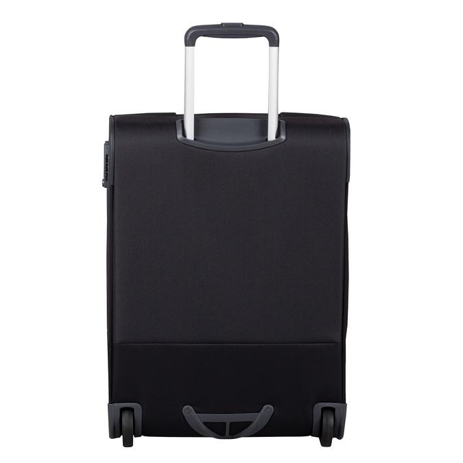 Černý textilní kufr na kolečkách samsonite, černá, 969-6618 - 26
