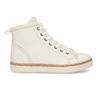 Bílá dámská kožená kotníčková obuv weinbrenner, bílá, 596-1754 - 19