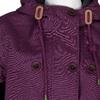 Fialová dámská bunda s kapucí joules, fialová, 979-5016 - 16