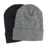 Pletená čepice s ohrnutým lemem bata, vícebarevné, 909-0490 - 13