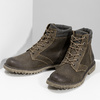 Hnědá kožená pánská zimní obuv weinbrenner, hnědá, 896-4693 - 16