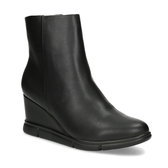 8ca1ec18a30d Bata B Flex Dámská kotníčková obuv na klínku černá - Ženy