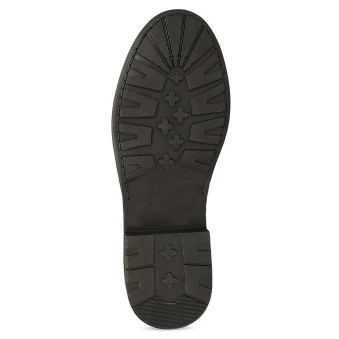 Dámská zimní kožená obuv s kožíškem bata, hnědá, 596-4701 - 18