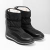 Černé dámské sněhule s výraznou podešví bata, černá, 599-6625 - 26