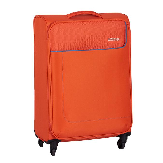 Oranžový textilní cestovní kufr american-tourister, oranžová, 969-8172 - 13
