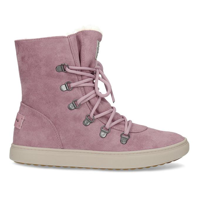 Dámská růžová zimní obuv se zateplením skechers, růžová, 503-5132 - 19