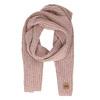 Růžová šála s hnědým detailem weinbrenner, růžová, 909-5730 - 26