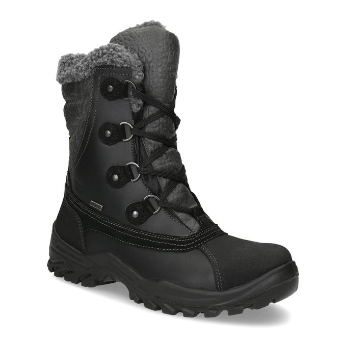 Pánské zimní sněhule se zateplením weinbrenner, černá, 896-6730 - 13