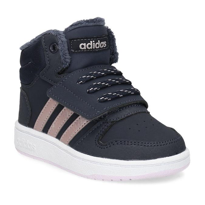 df3ef183eff Adidas Dětské zimní kotníčkové tenisky modré - Všechny dětské boty ...