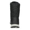 Dámské zimní prošívané sněhule bata, černá, 599-6623 - 15