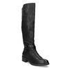Černé dámské kozačky s přezkou bata, černá, 691-6644 - 13