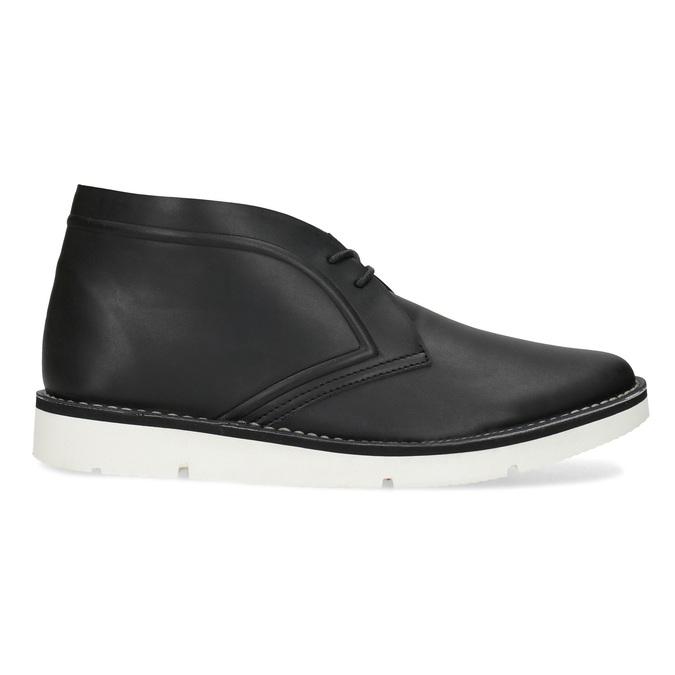 Černá pánská kotníčková obuv bata-b-flex, černá, 899-6601 - 19
