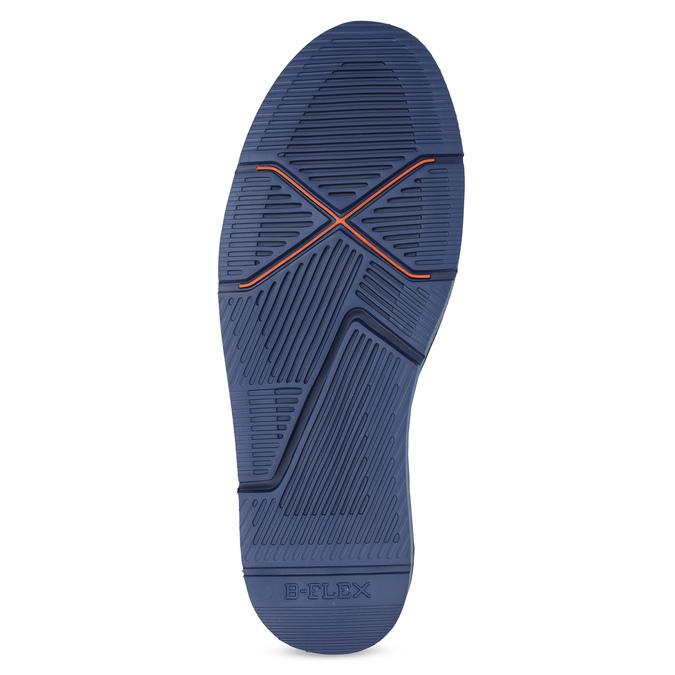 Hnědá pánská kotníčková obuv bata-b-flex, hnědá, 899-4600 - 18
