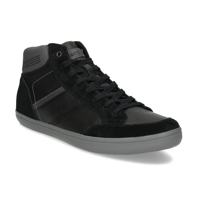 ecd7234ae5f Geox Černé pánské kotníčkové tenisky - Všechny boty
