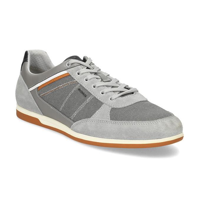 Geox Pánské šedé ležérní tenisky - Tenisky  968bd3391e