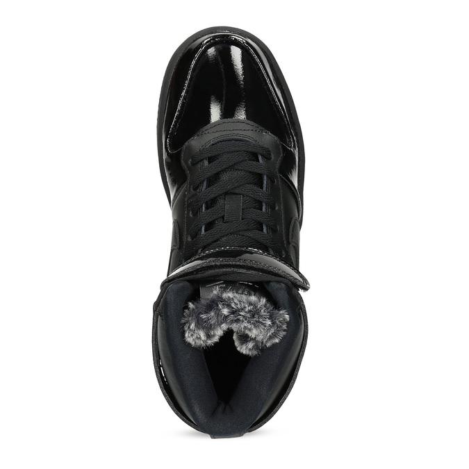 Černé dámské kotníčkové tenisky nike, černá, 501-6944 - 17