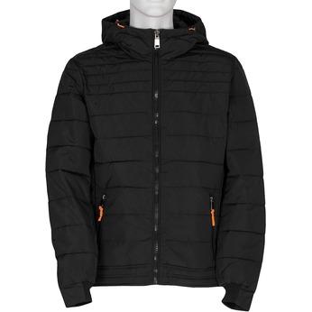 Pánská černá prošívaná bunda bata, černá, 979-6430 - 13
