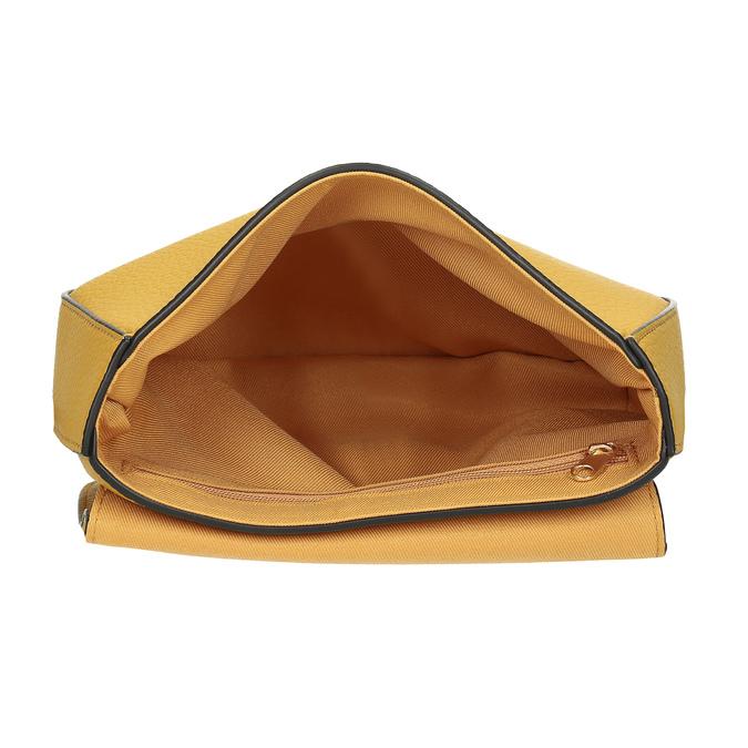 Žlutá crossbody kabelka, žlutá, 961-8955 - 15
